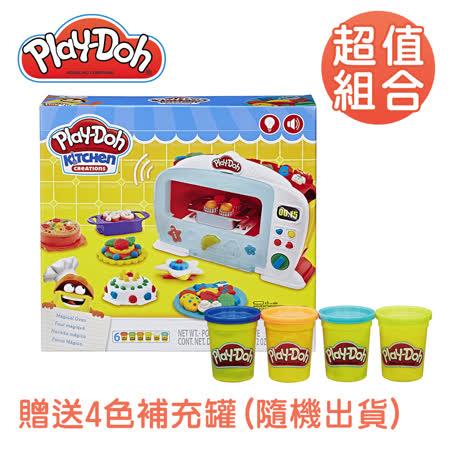 Play-Doh培樂多 廚房系列-神奇烤箱組