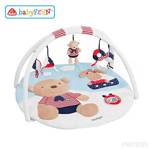 德國《baby FEHN 芬恩》海洋樂園立體遊戲墊