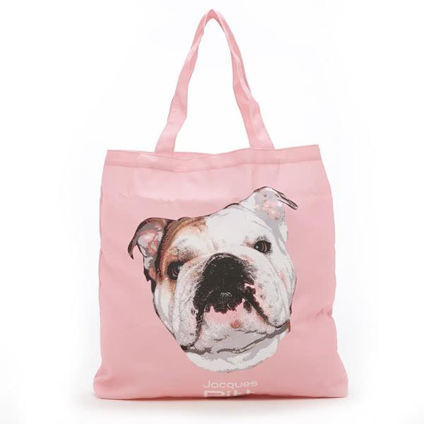Kitson 名人愛犬系列購物袋(粉色)