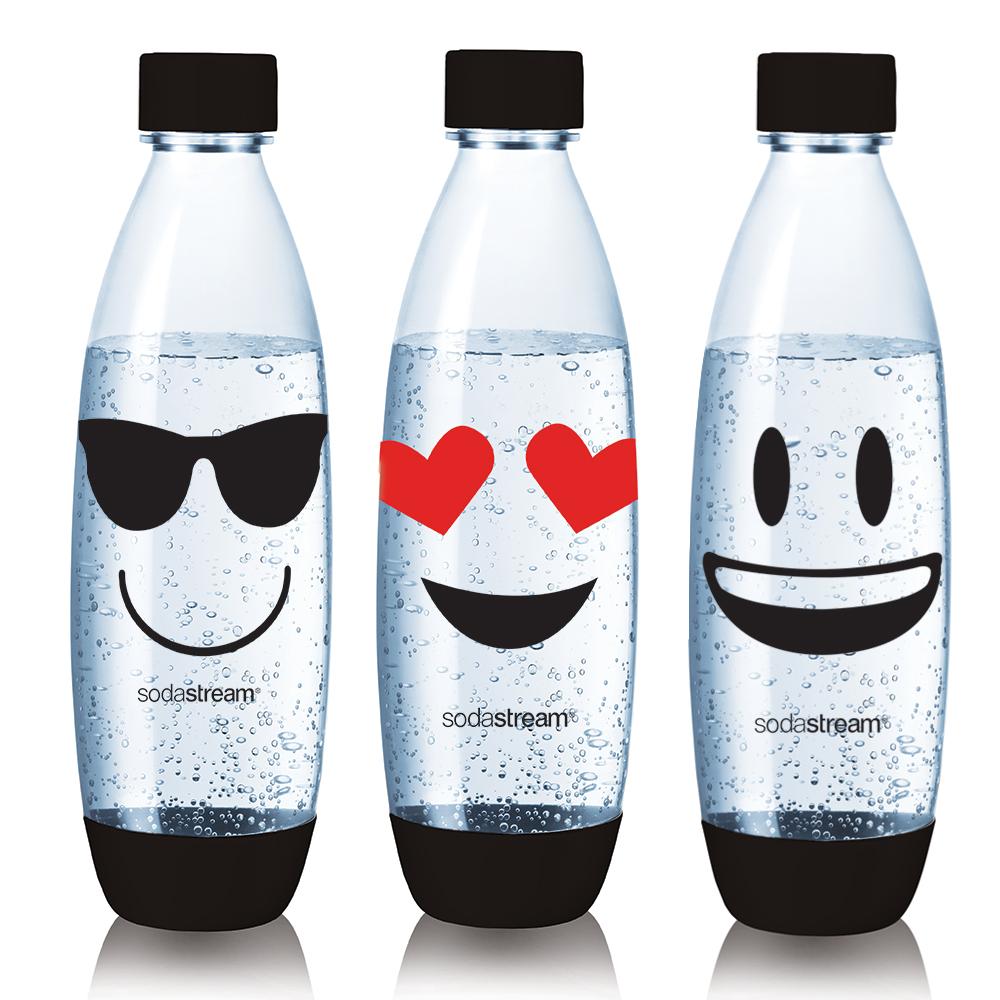 Sodastream emoji水滴寶特瓶1L -3入