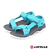 【AIRWALK-快速到貨】-女款-Y字造型休閒涼鞋-淺藍