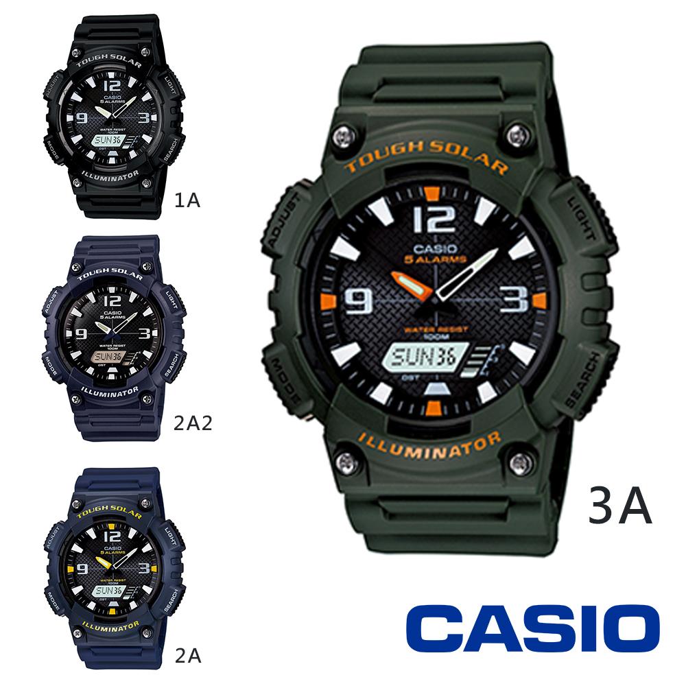 CASIO_卡西歐 潮流世足風‧太陽能數位雙顯腕錶  AQ-S810W