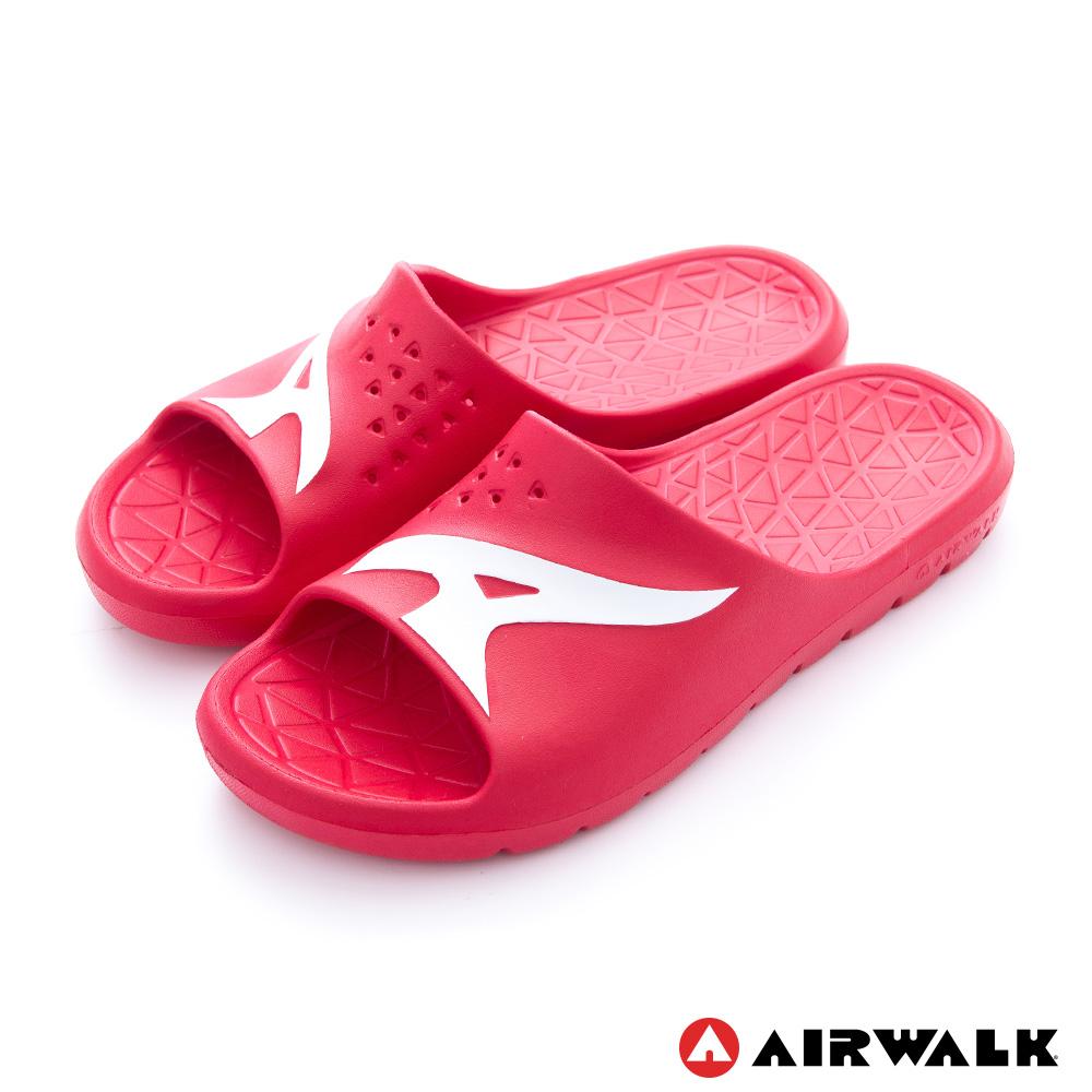 【AIRWALK-快速到貨】 - AB拖 For your JUMP EVA拖鞋-深紅