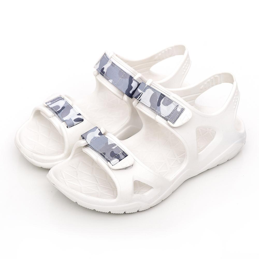 【AIRWALK-快速到貨】-減壓緩震輕量休閒涼鞋-白