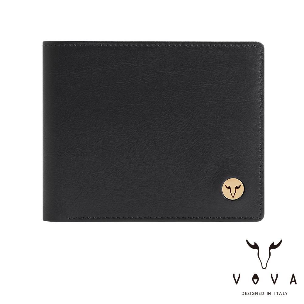 VOVA 費城系列5卡窗格皮夾(摩登黑)VA118W001BK