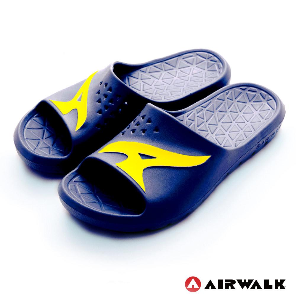 【AIRWALK-快速到貨】 - AB拖 For your JUMP EVA拖鞋-深藍