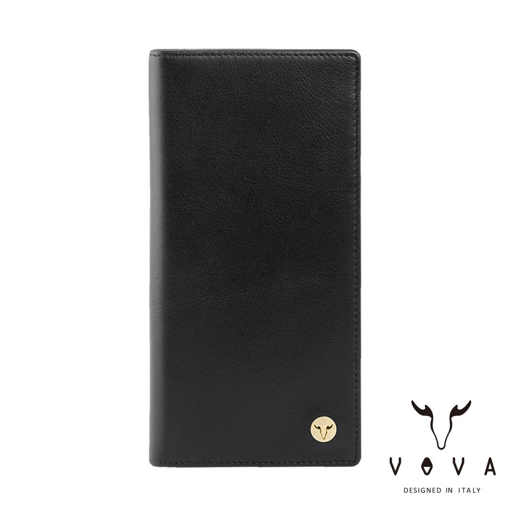 VOVA 費城系列12卡長夾(摩登黑)VA118W005BK