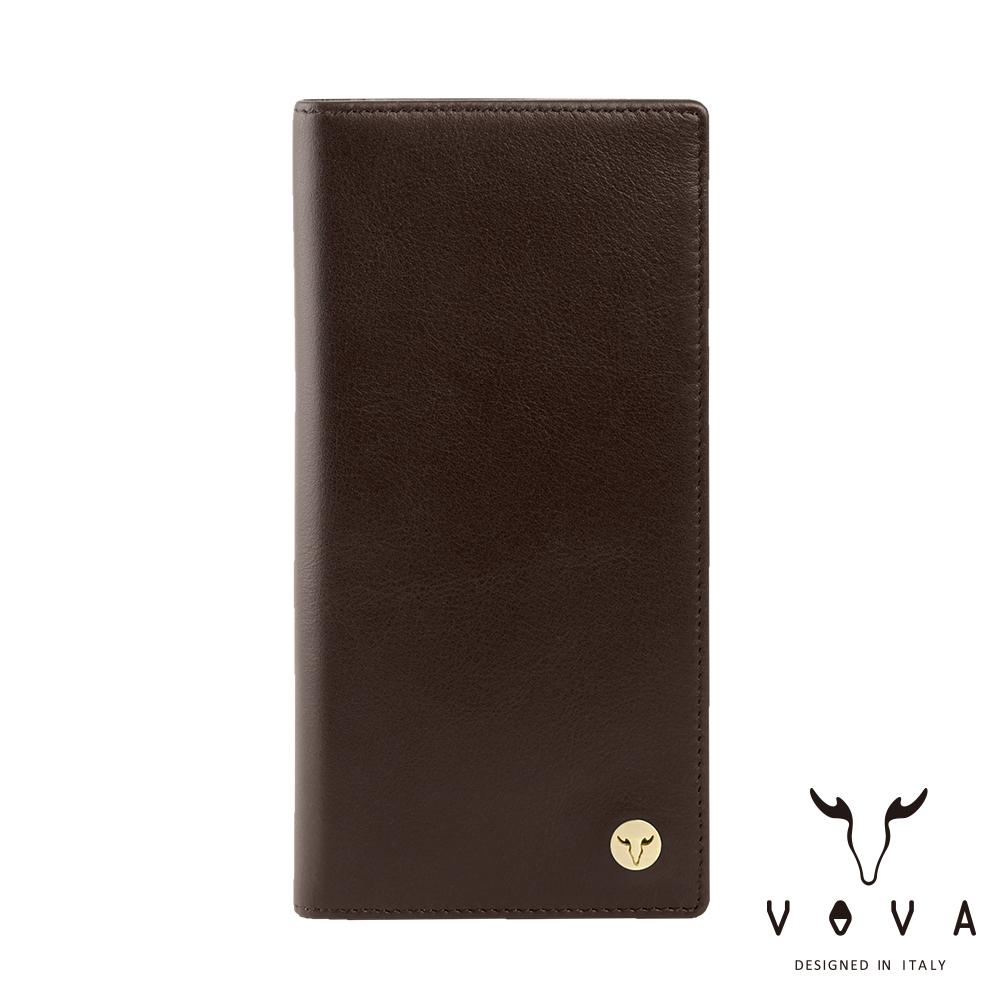 VOVA 費城系列12卡長夾(煙草棕)VA118W005BR