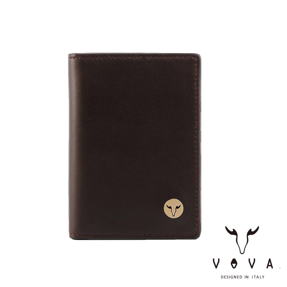 VOVA 費城系列3卡名片夾(煙草棕)VA118W010BR
