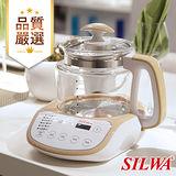 【西華SILWA】智慧控溫語音玻璃快熱烹煮壺2L