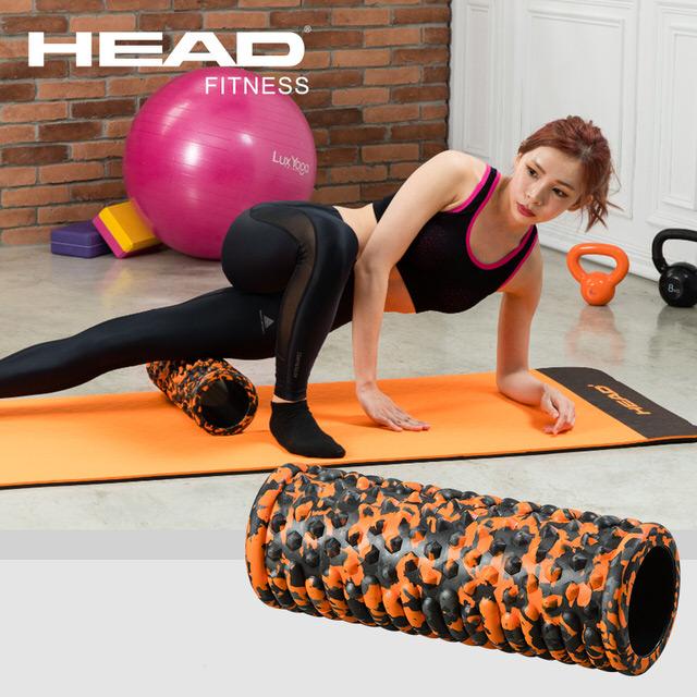 [優惠組]HEAD瑜珈墊+ HEAD按摩滾筒
