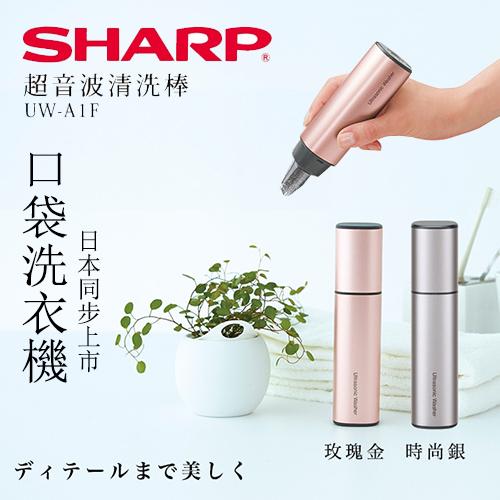 SHARP 夏普 超音波清洗棒UW-A1F(兩色可選)
