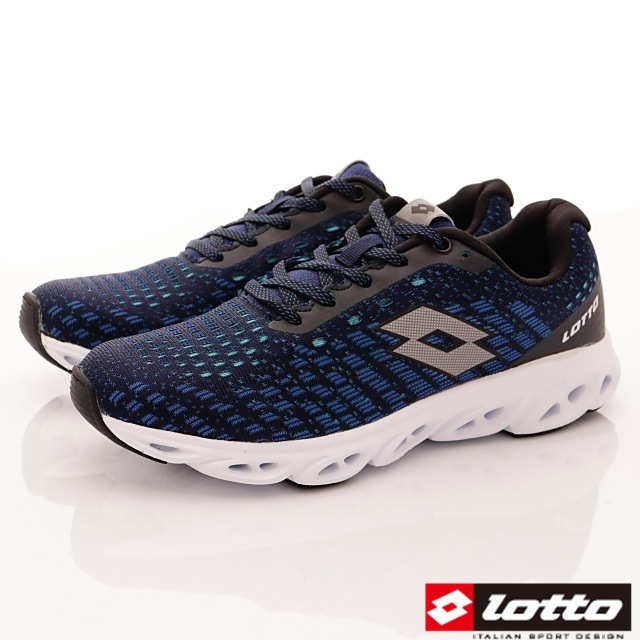 Lotto義大利運動鞋-風動緩震跑鞋-MR6606藍-25.5-29cm