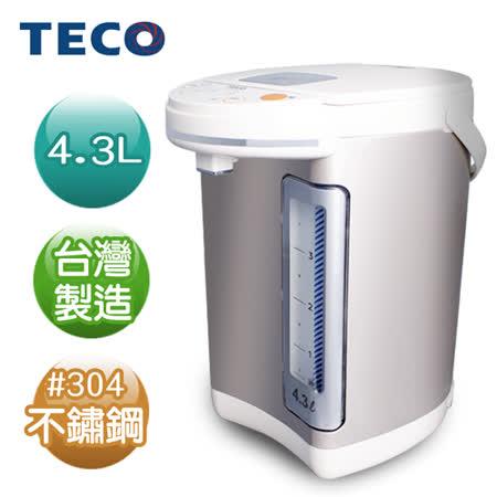 (福利品)【TECO東元】4.3L電熱水瓶 YD4301CB