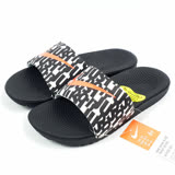 NIKE 女 KAWA SLIDE PRINT (GS/PS) 拖鞋 - 819358007