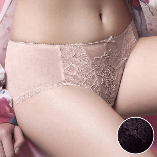 【華歌爾】伊珊露絲飛思美背漫舞晨曦 M-LL 中低腰平口褲(濃郁紫)
