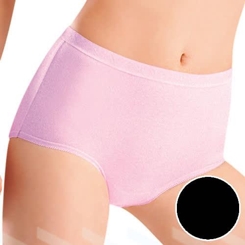 【華歌爾】新伴蒂系列 M-LL中腰舒適小褲(墨黑色)