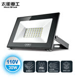 【太星電工】30W LED防水投射燈/110V/白光.