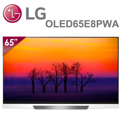 【LG樂金】65型 OLED 4K智慧連網電視 OLED65E8PWA(含基本安裝)送3插座+USB輸出防雷擊抗突波電源壁插+惠而浦-機械式不鏽鋼烤箱+HDMI線