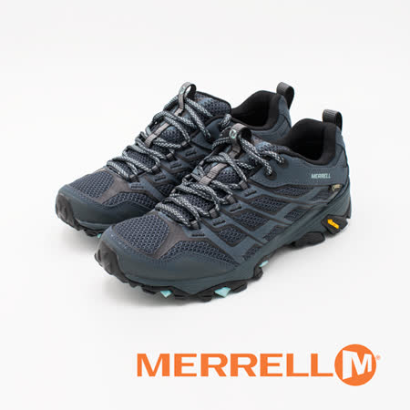 MERRELL (女)MOAB FST GORE-TEX多功能健行登山鞋-深水藍