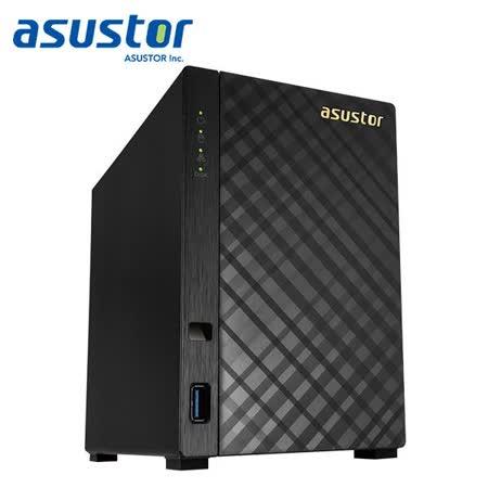 ASUSTOR華芸 AS-1002T V2 2Bay網路儲存伺服器