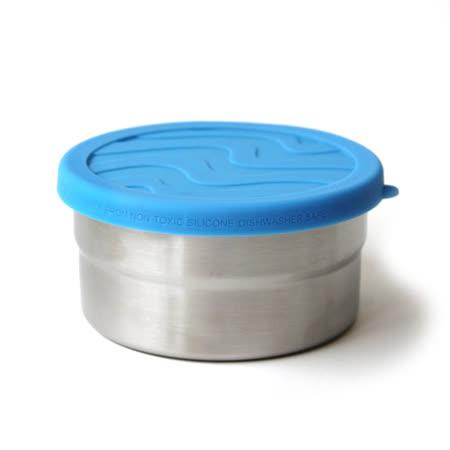 美國 ECOlunchBox-獨奏點心 圓盒-中(晴空藍)355ml