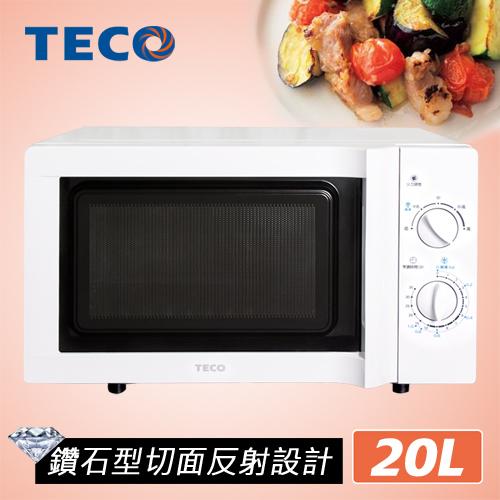【 品】TECO東元 20L無轉盤微波爐 YM2005CB