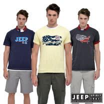 JEEP美國專櫃品牌-夏季涼感創意T-任選1件