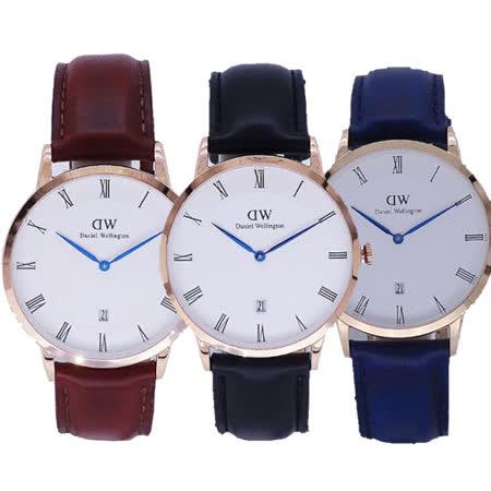 Daniel Wellington  羅馬字標風格系列腕錶