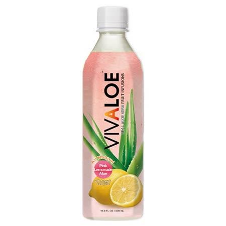 VIVALOE粉紅檸檬蘆薈汁 500ML