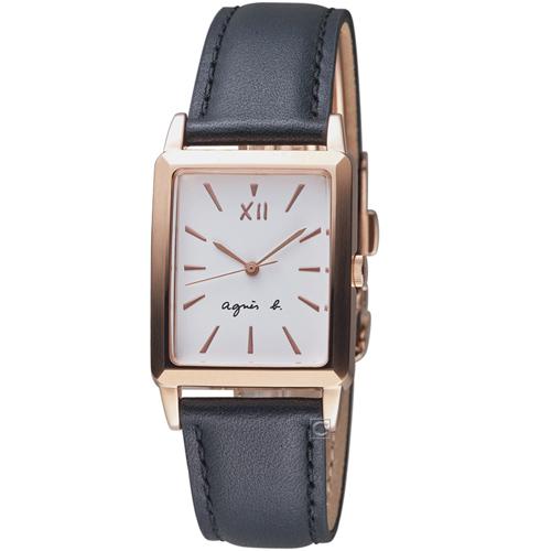 agnes b. 生活哲學時尚腕錶  VJ21-KFY0Z  BH8046X1