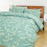 【I-JIA Bedding】H207 忘憂森林-精梳純棉床包兩用被組三件組-單人