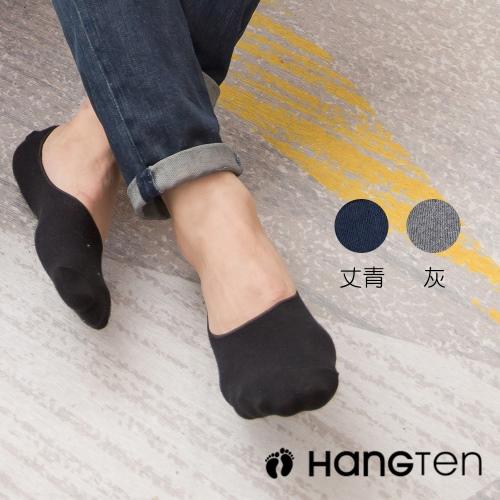 【HANG TEN】4雙入組 經典款隱形襪-3色隨機出貨