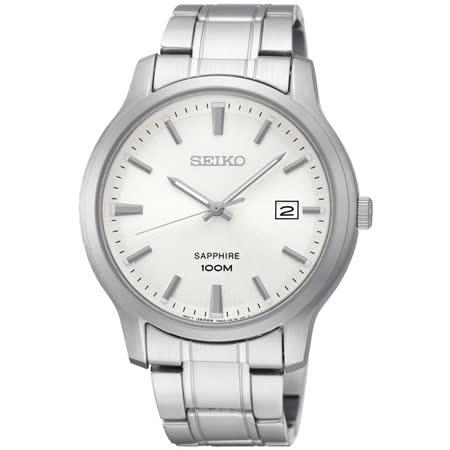 SEIKO 精工 俐落大三針石英錶
