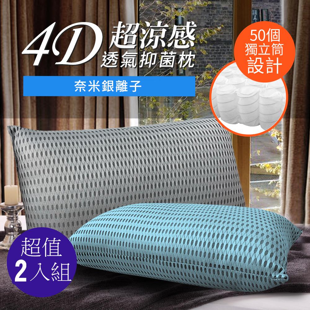 三浦太郎 台灣精製 4D透氣抑菌獨立筒枕
