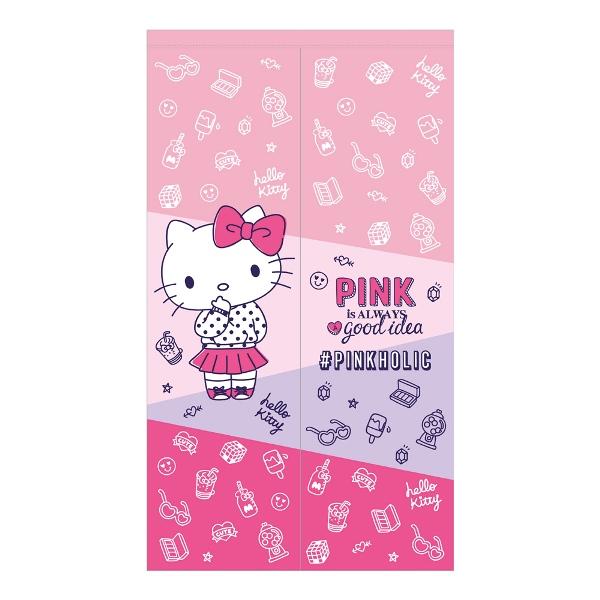 Hello Kitty PINKHOLIC長門簾150x85cm