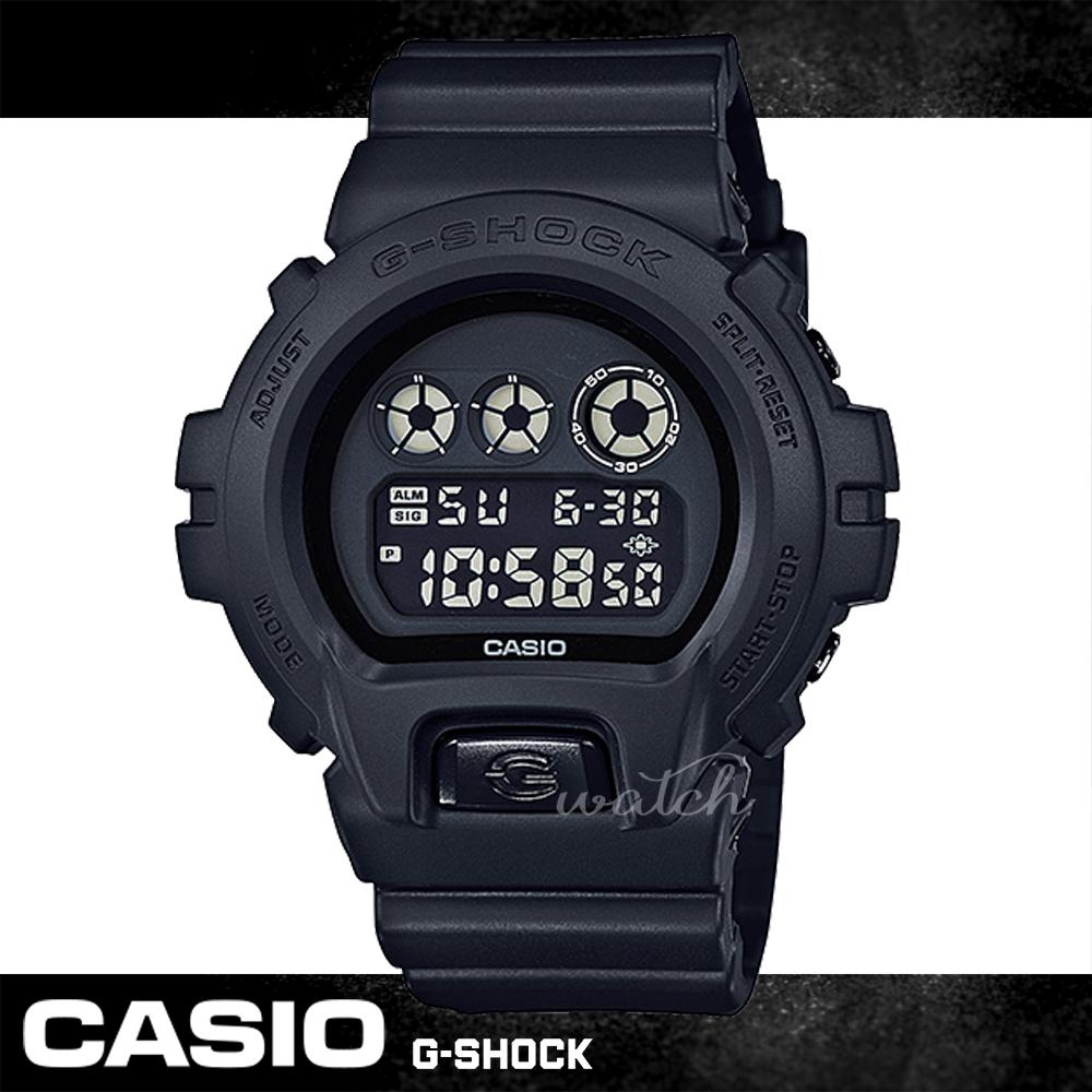 CASIO 卡西歐 G-SHOCK 系列 特務系列 消光黑 防震 防水運動錶 男錶 DW-6900BB-1DR