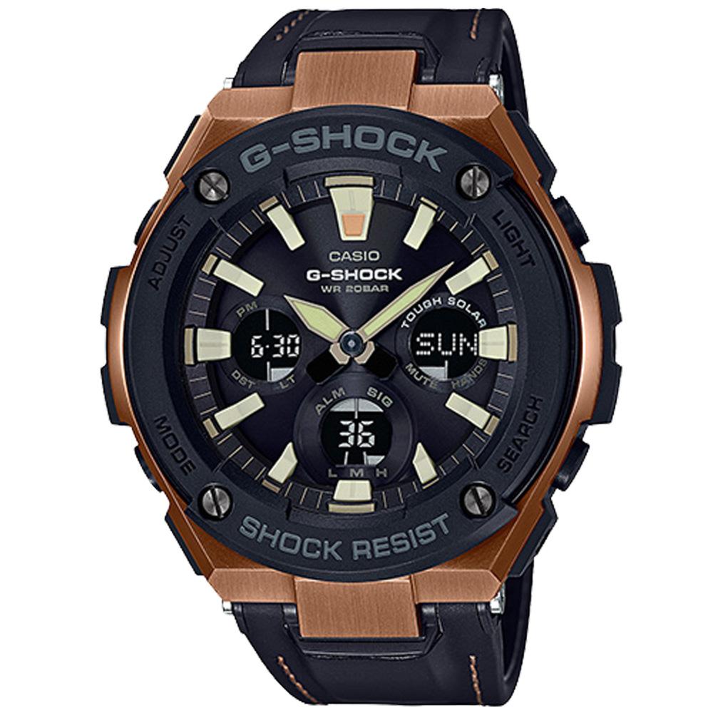 CASIO 卡西歐 G-SHOCK 經典現代風格 防震運動腕錶 GST-S120L-1A