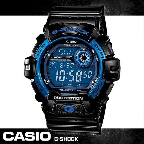 G-SHOCK 多層次液晶個性休閒運動錶 G-8900A-1DR
