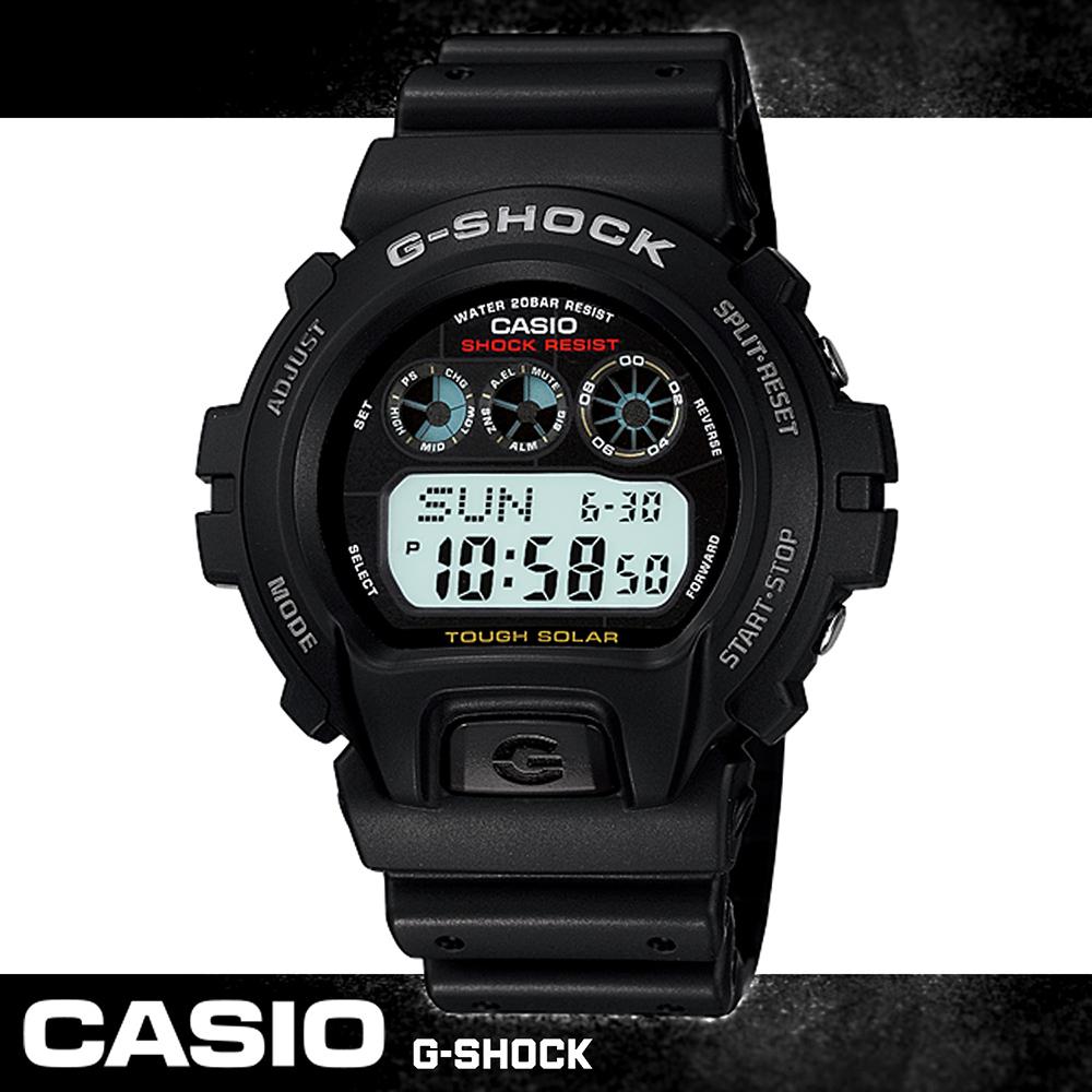 G-SHOCK 當兵_學生首選-太陽能運動錶 G-6900-1DR