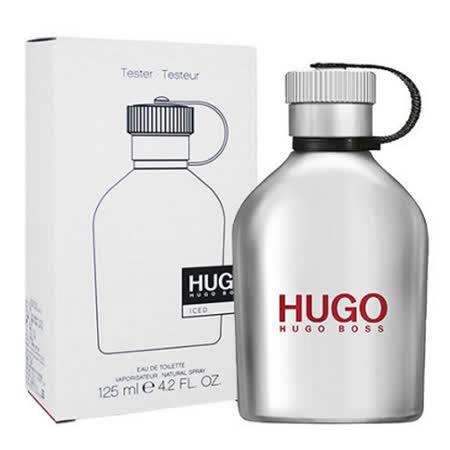 Hugo Boss ICED 冰沁男性淡香水 125ml-Tester包裝