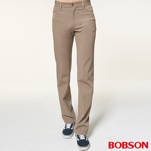 BOBSON 男款伸縮煙管褲(1656-71)