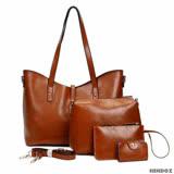 法國盒子 歐美時尚熱銷質感多件組(咖啡)7116#A