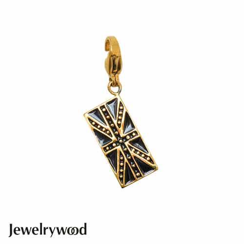 Jewelrywood 英倫搖滾米字旗吊墜