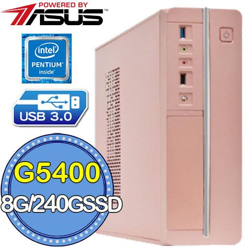 華碩H310平台【雁作魔導】G系列雙核 SSD 240G效能電腦