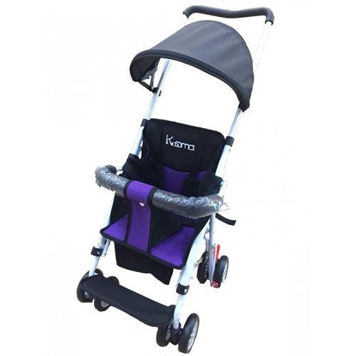 Kooma簡易型推車(紅色/紫色)