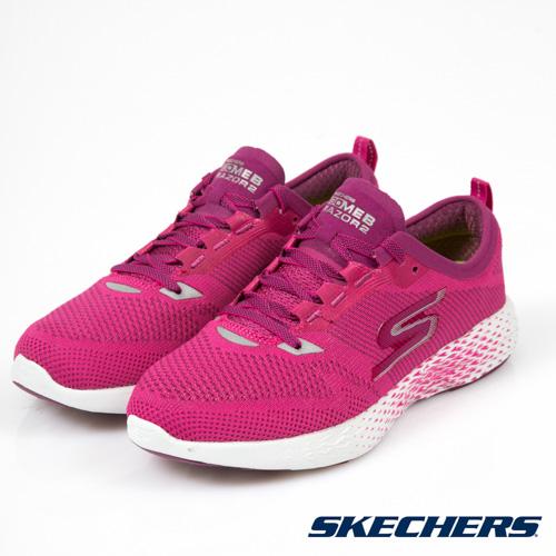 SKECHERS (女) 跑步系列 GO MEB RAZOR 2 - 15212PNK