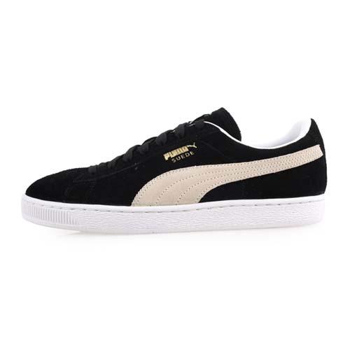 (男) PUMA SUEDE CLASSIC+ 休閒運動鞋-慢跑 黑淺灰