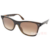 RayBan 太陽眼鏡 時尚潮流派對款 (琥珀棕-漸層棕) #RB4440NF 71013