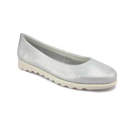 The FLEXX - CHA CHA CHA/CURTIS  銀色 別緻鞋面 牛皮 娃娃鞋 (C122_08_051007)